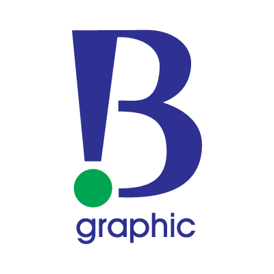 B Graphic logo