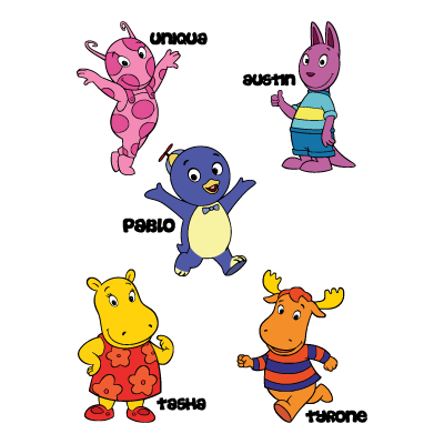 Backyardigans COLOR logo