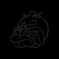 Bad Blue Boys Bulldog logo vector free