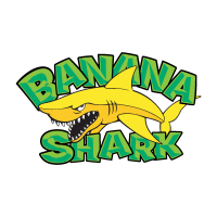 Banana Shark logo vector free download