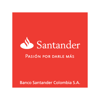 Banco Santander Colombia logo