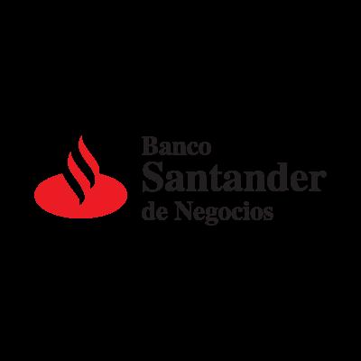 Banco Santander logo vector