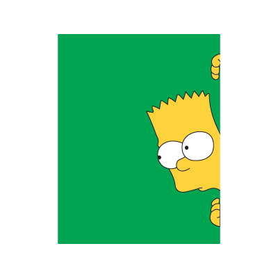 Bart Simpsons logo vector