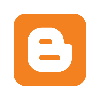 Blogger B logo vector