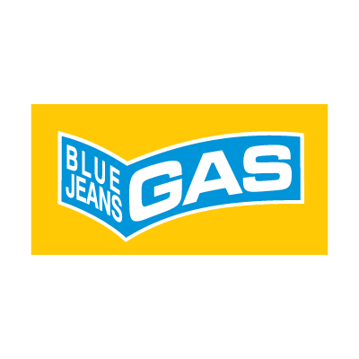 Blue Jeans Gas logo vector