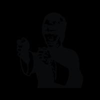 Bruce Lee logo vector free
