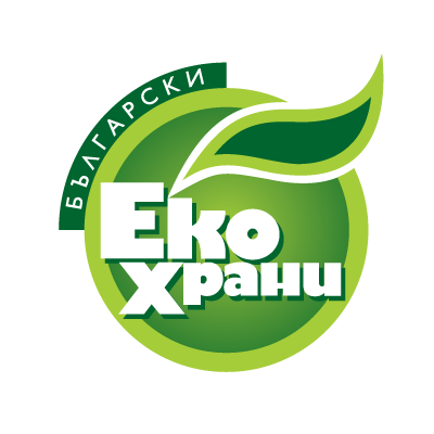 Bulgarian Eco Food logo vector
