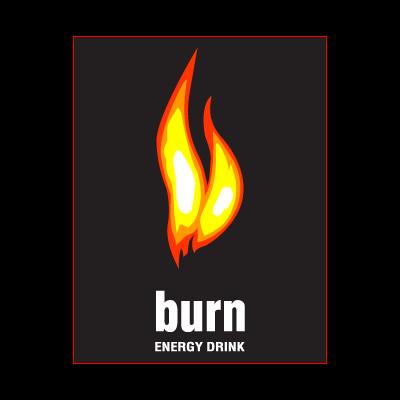 BURN ENERGY DRINK logo vector