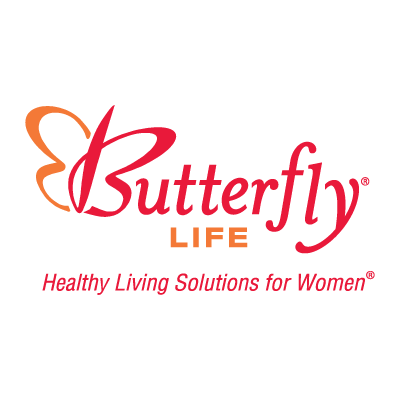 Butterfly Life logo vector