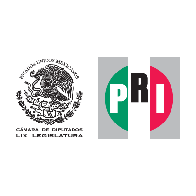 Camara de Diputados LIX Legislatura PRI logo vector