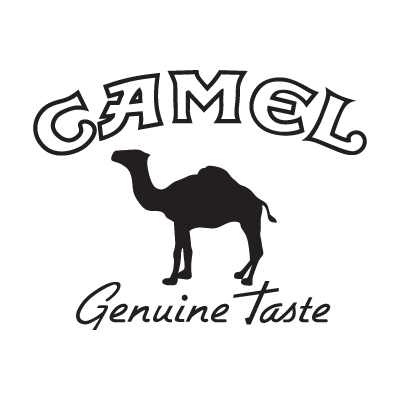 Camel black logo vector