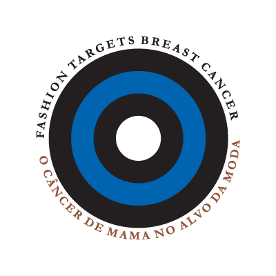 Cancer de Mama no Alvo da Moda logo vector