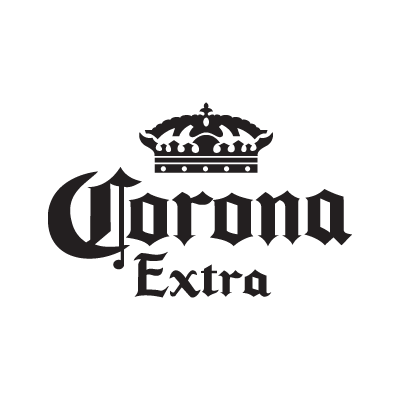 Corona Extra black logo
