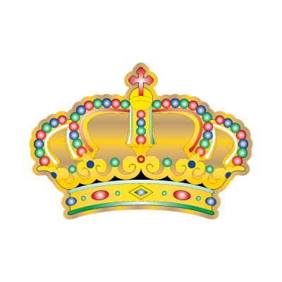 Crown siva logo vector
