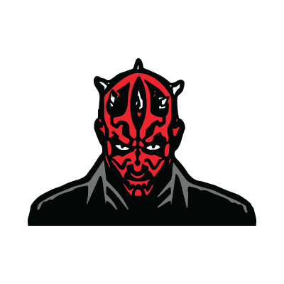 Darth Maul logo vector