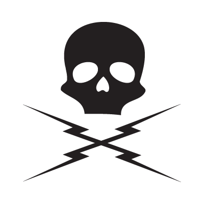 Death proof skull logo