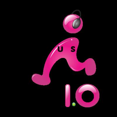 E music logo vector
