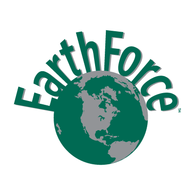 Earth Force logo vector
