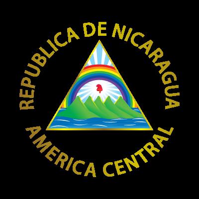 Escudo de Nicaragua logo