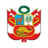 Escudo del Peru logo vector free