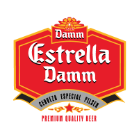 Estrella Damm logo vector free download