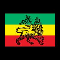 Ethiopia, reggae, rasta, bob marley logo vector