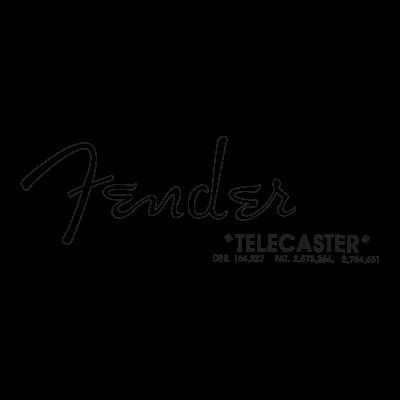 Fender Zouzoul - Spagetti logo