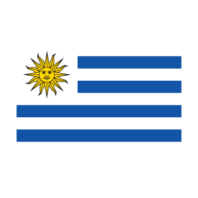 Flag of Bandera de Uruguay logo vector