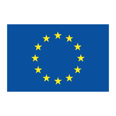 Flag of EU logo vector