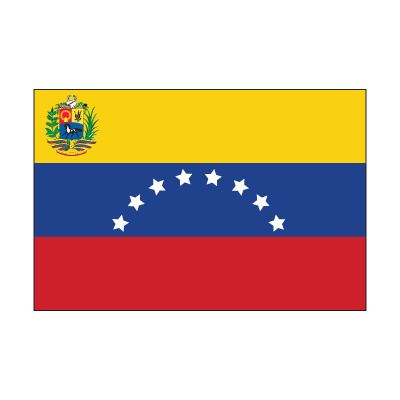 Flag of Venezuela logo vector