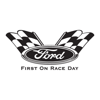 Ford First On Race Day logo