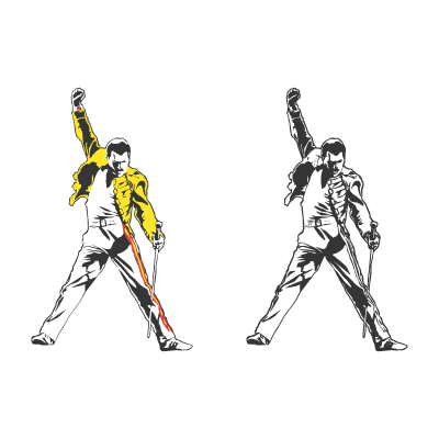 Freddie Mercury tribute logo