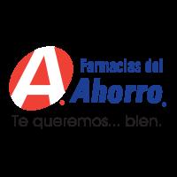 Farmacias del Ahorro logo vector free download