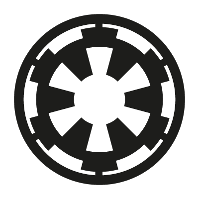 Galactic Empire logo vector