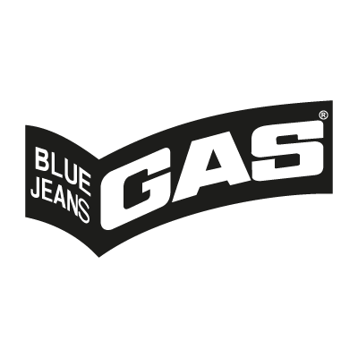 Gas Blue Jeans logo vector