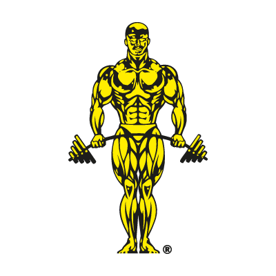 Gold's Gym logo vector