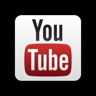 New YouTube button vector