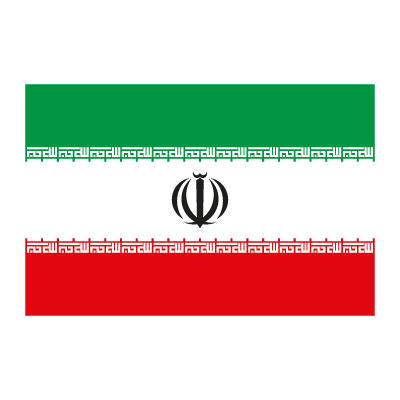 Flag of Iran vector logo