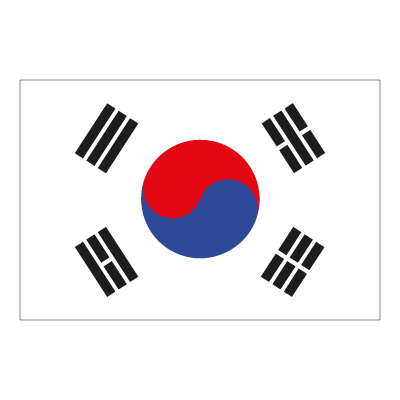Flag of South Korea logo