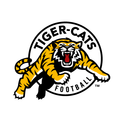 Hamilton Tiger-Cats Football vector logo
