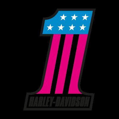 Harley-Davidson 1 vector logo