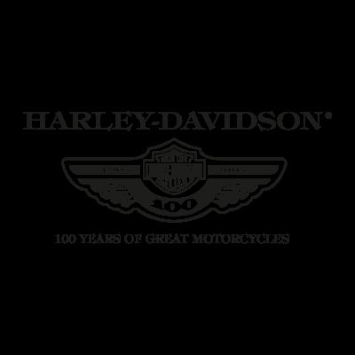 Harley Davidson 100 years logo