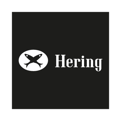 Hering black vector logo