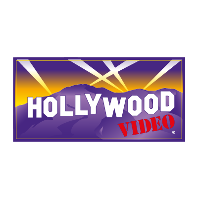 Hollywood Video vector logo