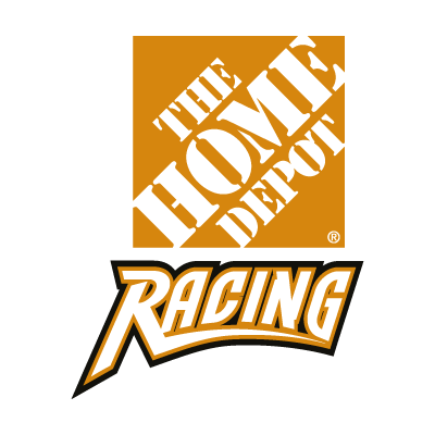 Home Depot Racing vector logo