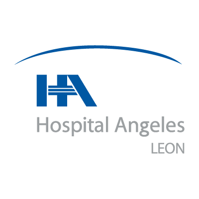 Hospital angeles Leon vector logo