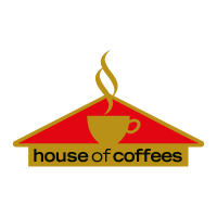 House Of Coffees vector logo free download