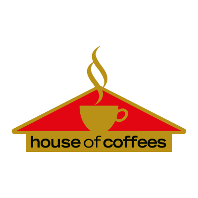 House Of Coffees vector logo