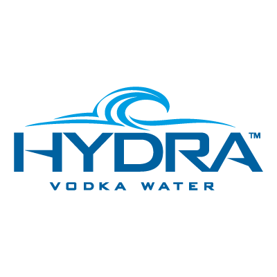 Hydra Vodka Water vector logo