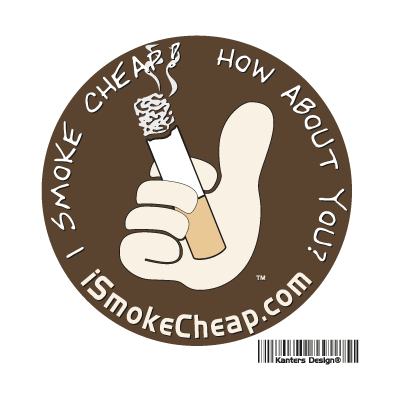 I Smoke Cheap logo